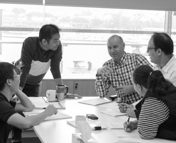GR - Team having a meeting