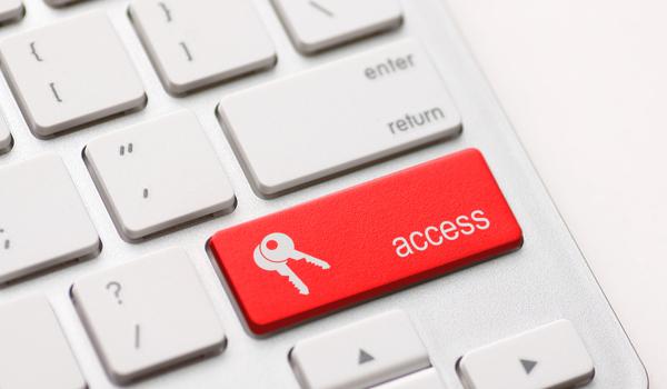 access enter key and keys icon